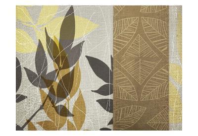 Yellow Leaf-Cynthia Alvarez-Art Print