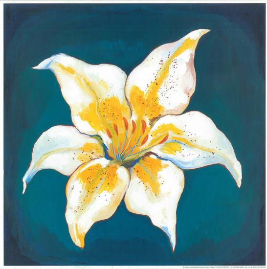 Yellow Lily-Urpina-Art Print