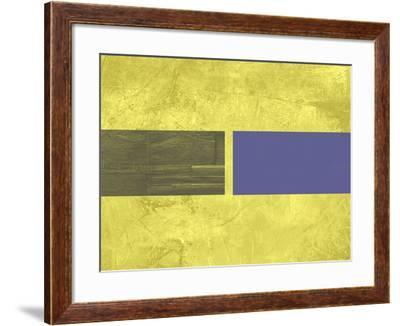 Yellow Mist 3-NaxArt-Framed Art Print