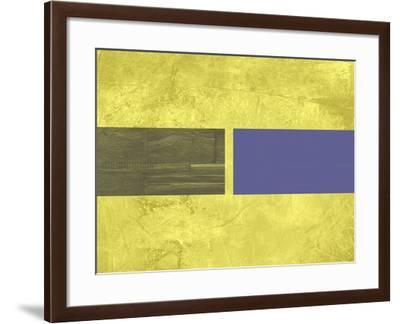 Yellow Mist 3-NaxArt-Framed Art Print
