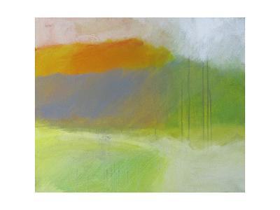 Yellow Mountain-Skadi Engeln-Art Print