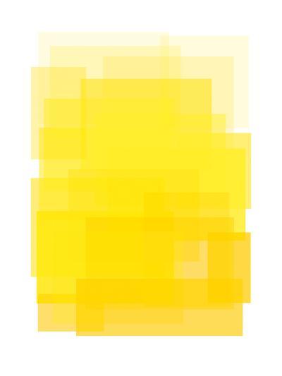 Yellow Ombre-Ashlee Rae-Art Print
