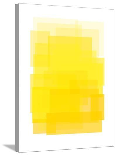 Yellow Ombre-Ashlee Rae-Stretched Canvas Print