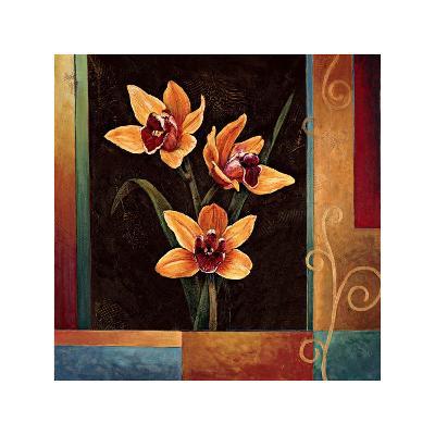 Yellow Orchids-Jill Deveraux-Giclee Print