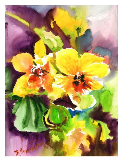 Yellow Orchids-Suren Nersisyan-Art Print
