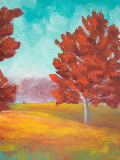 Yellow Pasture-Walt Johnson-Art Print