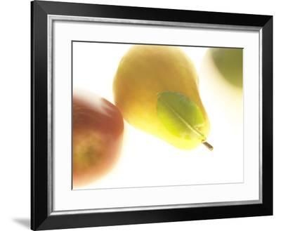Yellow Pear--Framed Photographic Print