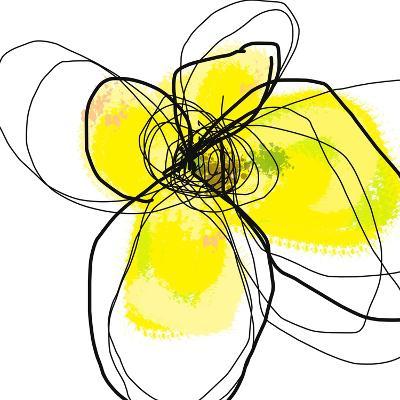 Yellow Petals 3-Jan Weiss-Art Print