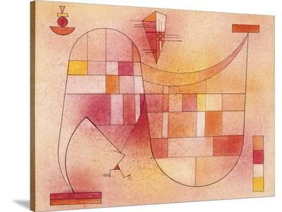 Yellow Pink-Wassily Kandinsky-Stretched Canvas Print