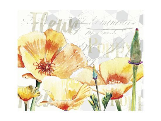 Yellow Poppy I-Redstreake-Art Print