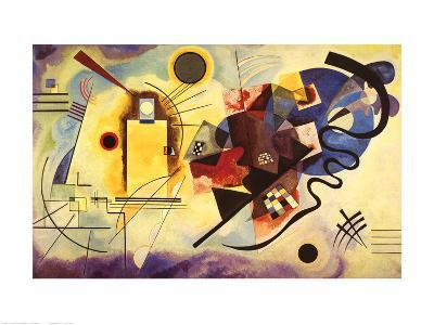 Yellow, Red and Blue, c.1925-Wassily Kandinsky-Art Print