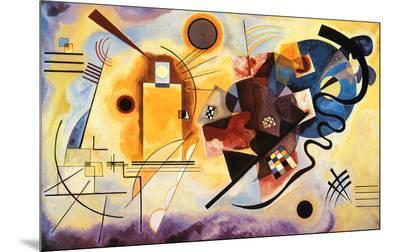 Yellow, Red and Blue, c.1925-Wassily Kandinsky-Mounted Print