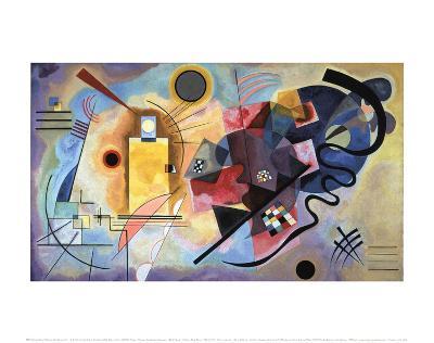 Yellow, Red, Blue, 1925-Wassily Kandinsky-Art Print