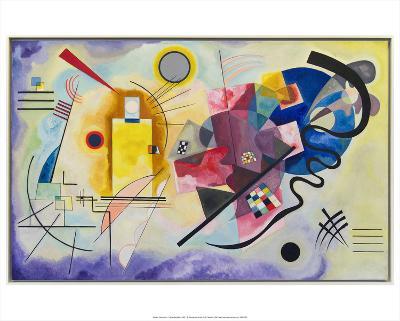Yellow-Red-Blue (1925)-Wassily Kandinsky-Art Print