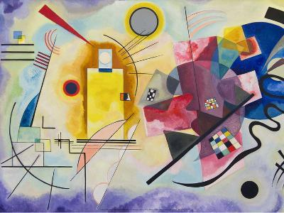 Yellow-Red-Blue, 1925-Wassily Kandinsky-Art Print