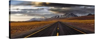 Yellow Road-Adhemar Duro-Stretched Canvas Print