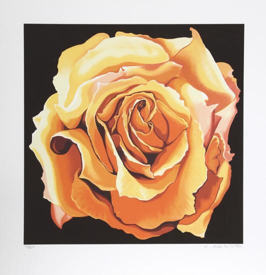 Yellow Rose-Lowell Blair Nesbitt-Collectable Print