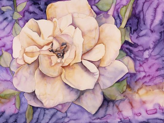 Yellow Rose-Mary Russel-Giclee Print