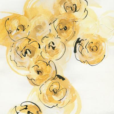 Yellow Roses Anew I-Chris Paschke-Art Print