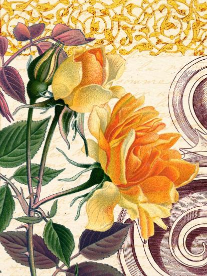 Yellow Roses-Piddix-Art Print