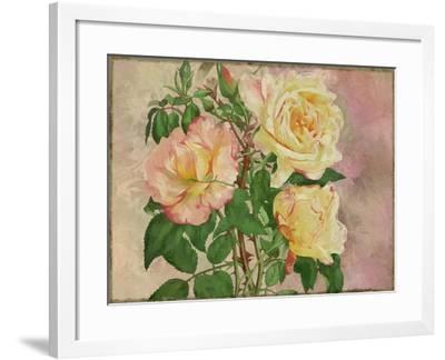 Yellow Roses-Cora Niele-Framed Giclee Print