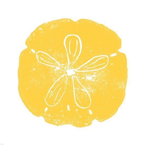 Yellow Sand Dollar-Veruca Salt-Art Print
