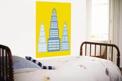 Yellow Skyscraper-Avalisa-Wall Mural