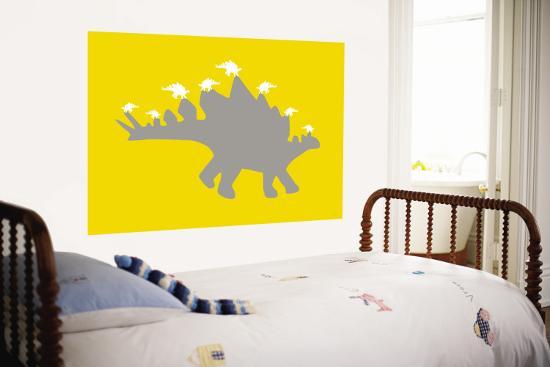 Yellow Spike-Avalisa-Wall Mural