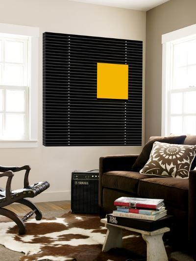 Yellow square-Luc Vangindertael-Loft Art