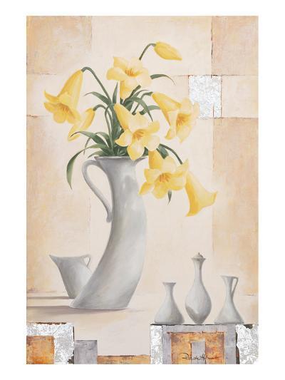 Yellow Star-Renate Holzner-Art Print