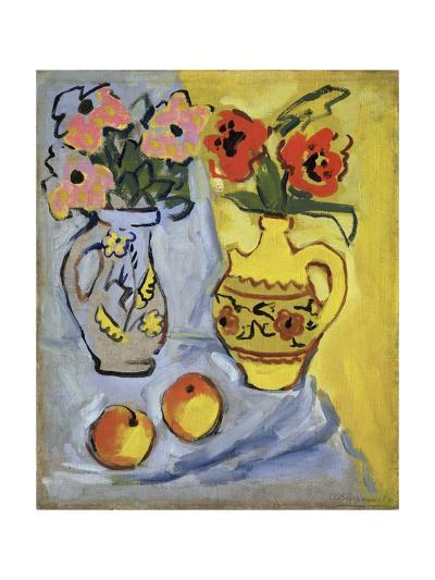 Yellow Still Life, 1962-Alexander Semyonovich Vedernikov-Giclee Print