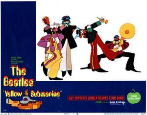 Yellow Submarine, the Beatles, 1968