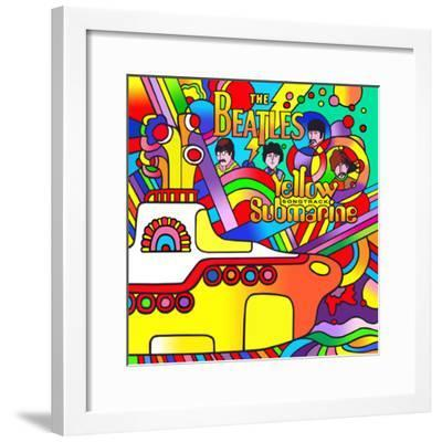 Yellow Submarine-Howie Green-Framed Giclee Print