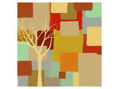 Yellow Tree II-Yashna-Art Print