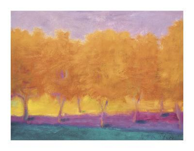 Yellow Trees-Wolf Kahn-Giclee Print