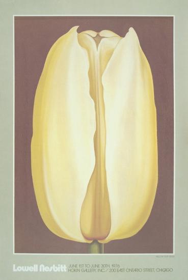 Yellow Tulip-Lowell Nesbitt-Art Print