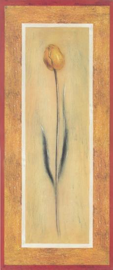 Yellow Tulips II-Lewman Zaid-Art Print