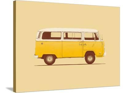 Yellow Van-Florent Bodart-Stretched Canvas Print