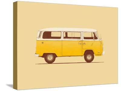 Yellow Van-Florent Bodart-Stretched Canvas Print