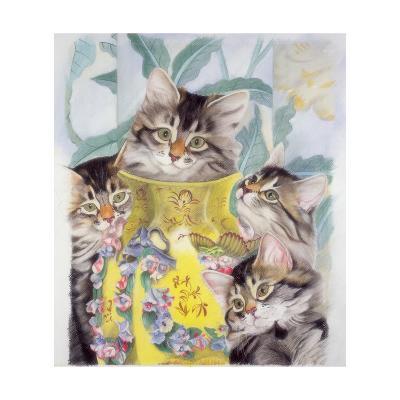 Yellow Vase-Anne Robinson-Giclee Print