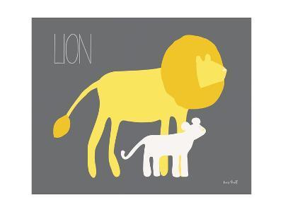 Yellow Zoo II-Kris Ruff-Art Print