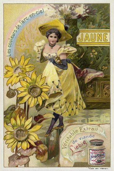 Yellow--Giclee Print