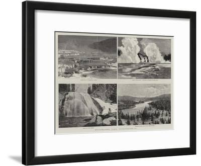 Yellowstone Park, Illustrated, II
