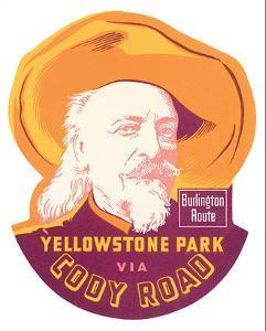 Yellowstone Park Via Cody Road