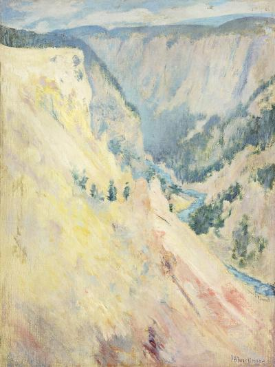 Yellowstone Park-John Henry Twachtman-Giclee Print