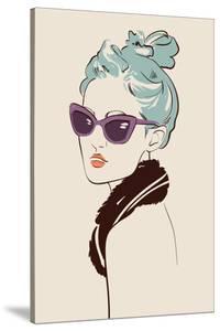 Girl In Glasses by yemelianova