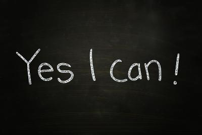 Yes I Can-airdone-Photographic Print