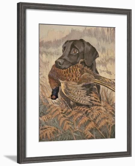 Yes, Sir!-Reuben Ward Binks-Framed Premium Giclee Print