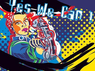 Yesss!-Ray Lengele-Art Print