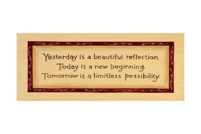Yesterday, Today, Tomorrow-Karen Tribett-Art Print